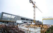Eure : le nouveau collège de Beuzeville avec son restaurant et ses 11 classes sort de terre