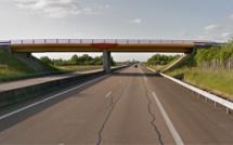 Accident mortel de Chavigny-Bailleul : la victime se serait jetée d'un pont sur la voie rapide