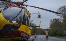 """Rambouillet : un motard blessé sérieusement en faisant des """"cascades"""""""