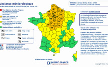 Pluie-inondation : la Haute-Normandie et 25 autres départements, placés en vigilance orange