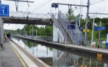 Inondations et glissements de terrain perturbent le réseau SNCF en Île-de-France