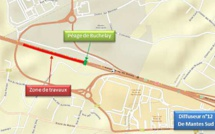 Travaux sur l'A13 : circulation perturbée à la barrière de péage de Mantes-Buchelay