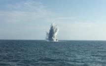 126 bombes détruites au large de la Seine-Maritime par les plongeurs-démineurs
