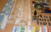 Le trafic était juteux : 40 000€ saisis chez un fournisseur de drogue au Chesnay  (Yvelines)