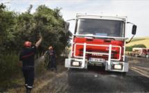 Seine-Maritime : incendie dans un champ à Sasseville