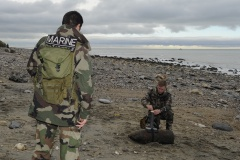 Opération de déminage à Cauville-sur-Mer