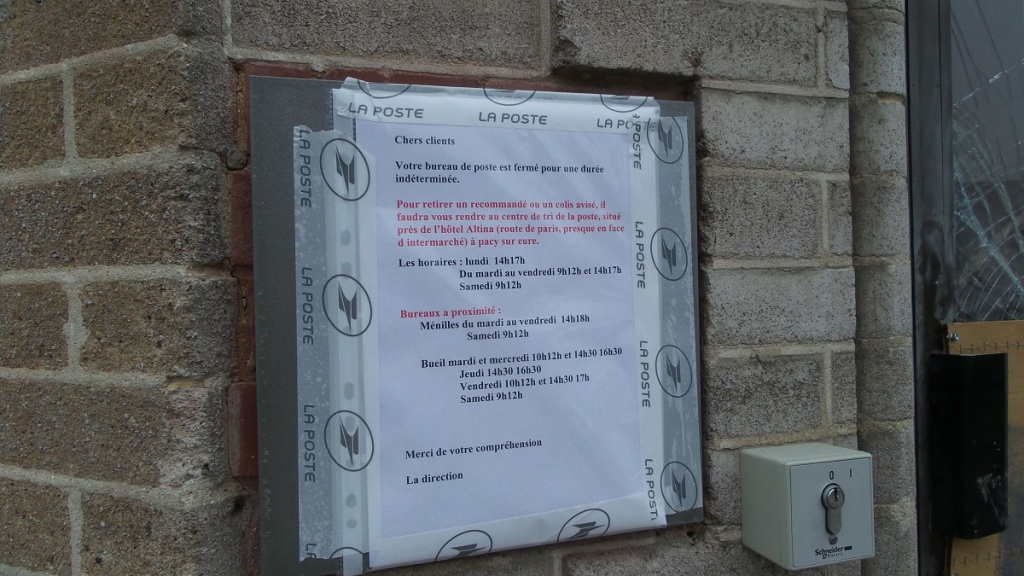 La Poste de Pacy-sur-Eure
