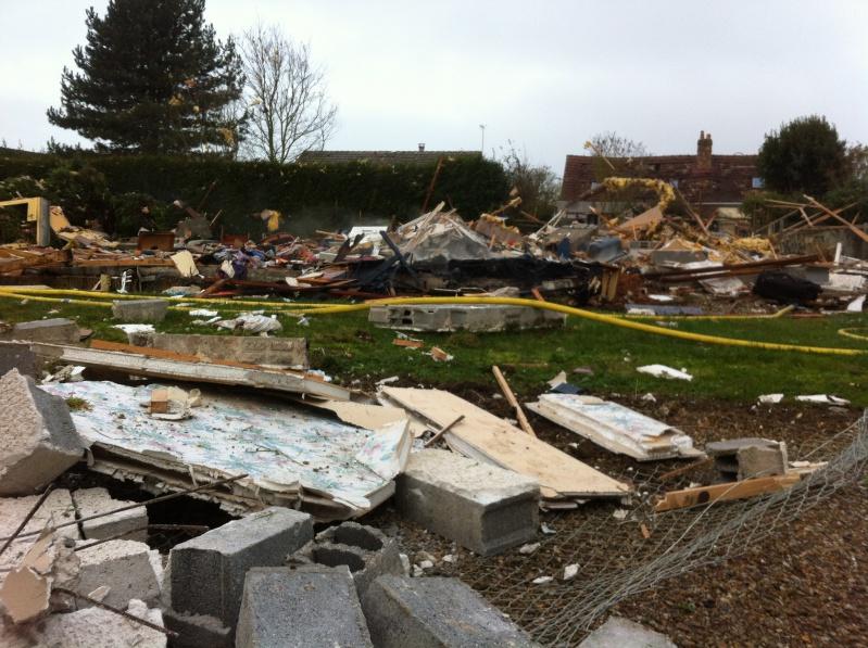 Explosion à Richeville, dans l'Eure